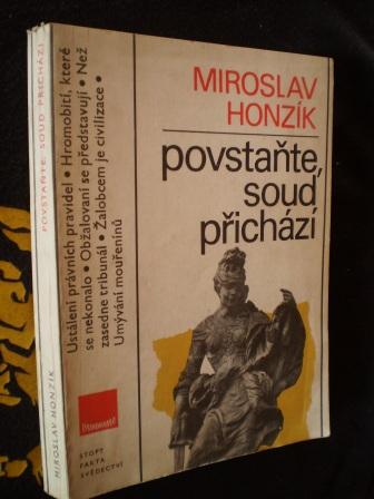 POVSTAŇTE SOUD PŘICHÁZÍ - Miroslav Honzík