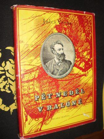 PĚT NEDĚL V BALÓNĚ - Verne, Jules