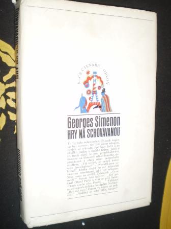 HRY NA SCHOVÁVANOU - Simenon, Georges