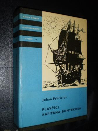 Plavčíci kapitána Bontekoea - Fabricius, Johan