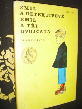 EMIL A DETEKTIVOVÉ , EMIL A TŘI DVOJČATA - Erich Kästner