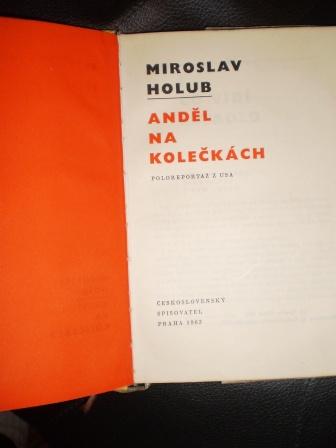 ANDĚL NA KOLEČKÁCH - Holub, Miroslav