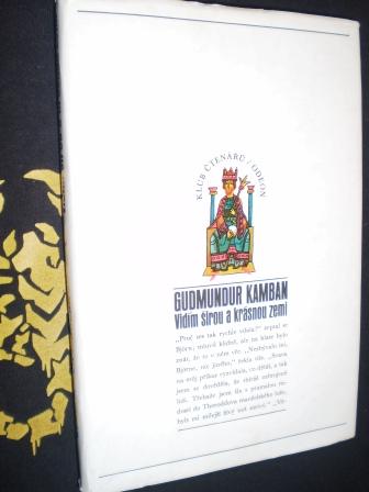 VIDÍM ŠIROU A KRÁSNOU ZEMI - Kamban, Gudmundur