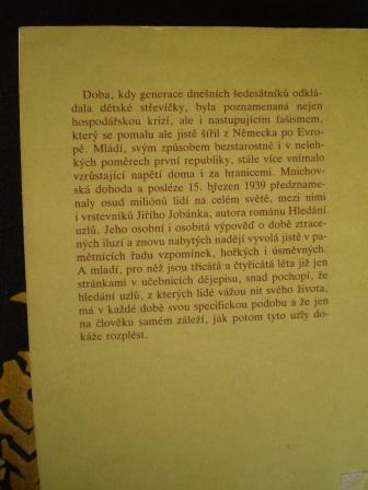 HLEDÁNÍ UZLŮ - Jiří Jobánek