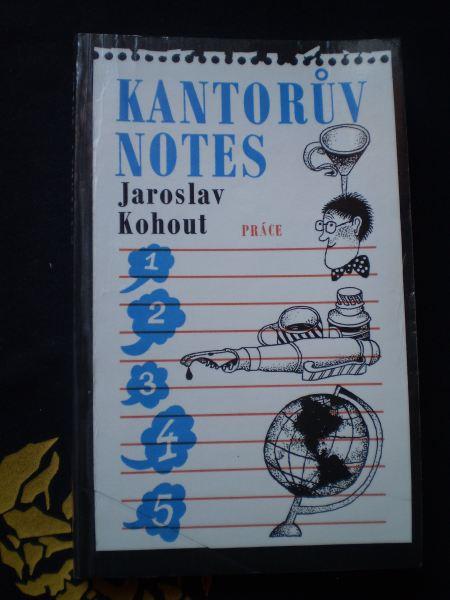 KANTORŮV NOTES - Jaroslav Kohout