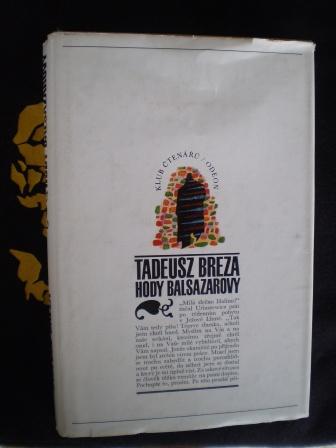 HODY BALSAZAROVY - Tadeusz Breza