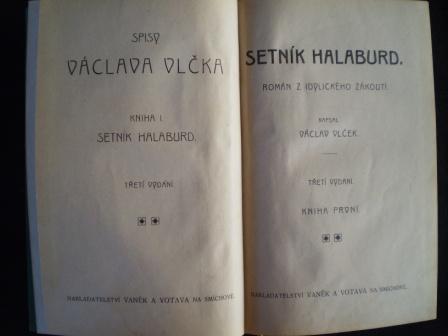 SETNÍK HALABURD - Václav Vlček
