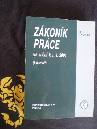 ZÁKONÍK PRÁCE ve znění k 1.1. 2001 - Jiří Kocourek
