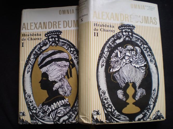 HRABĚNKA de CHARNY I. II. - Alexandre Dumas