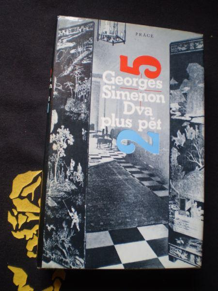 DVA PLUS PĚT - Simenon, Georges