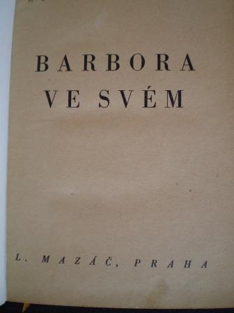 BARBORA VE SVÉM - Edgar Wallace