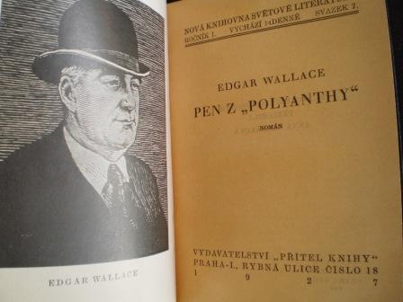 PEN Z POLYANTHY - Edgar Wallace