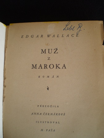 MUŽ Z MAROKA - Edgar Wallace