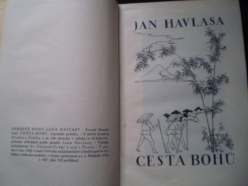 Jan Havlasa - CESTA BOHŮ: JAPONSKÉ POTULKY