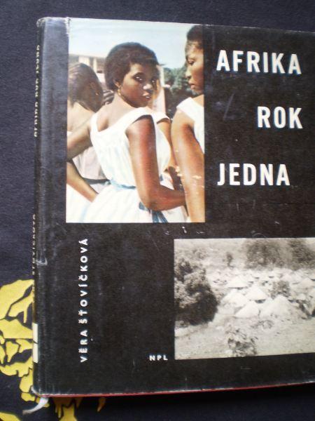 AFRIKA ROK JEDNA - Šťovíčková, Věra