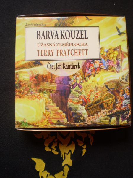 BARVA KOZOUZEL (audiokniha)