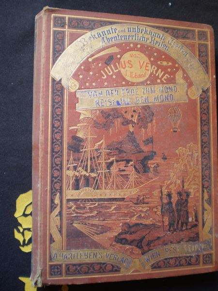 Von der Erde zum Mond. Reise um den Mond - Julius Verne