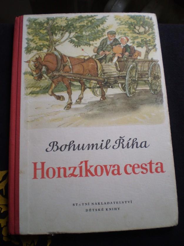 HONZÍKOVA CESTA - Říha, Bohumil