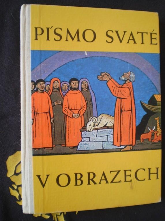 PÍSMO SVATÉ V OBRAZECH - František Hillmann