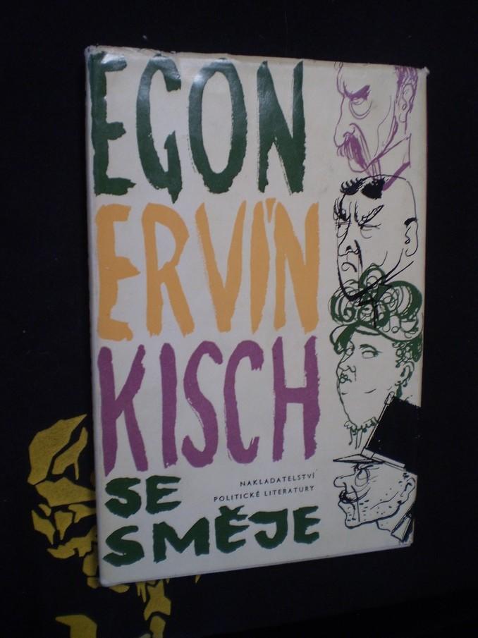 Egon Ervín Kisch se směje