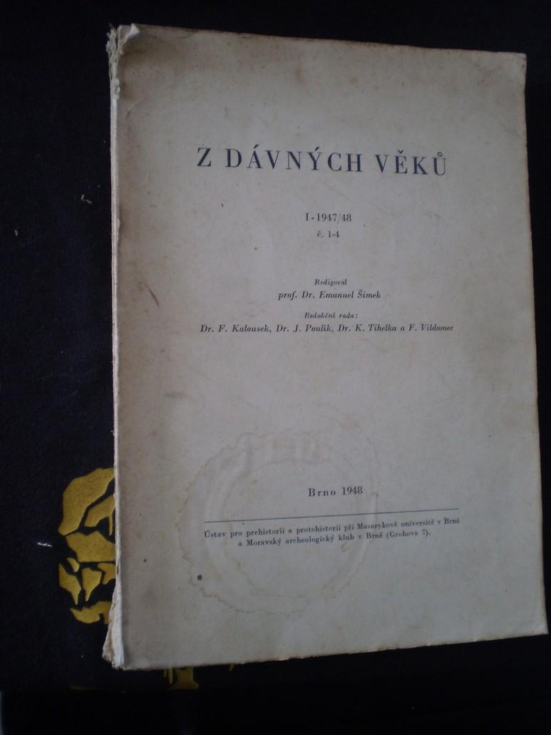 Z dávných věků. Roč I.-1947/48