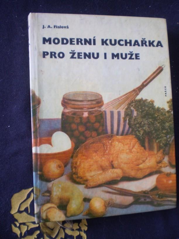 MODERNÍ KUCHAŘKA PRO ŽENU I MUŽE - Fialová, Juliana A.