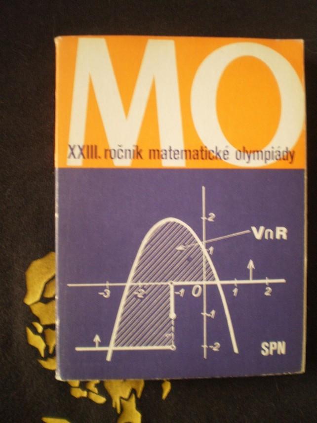 XXIII. ročník matematické olympiády