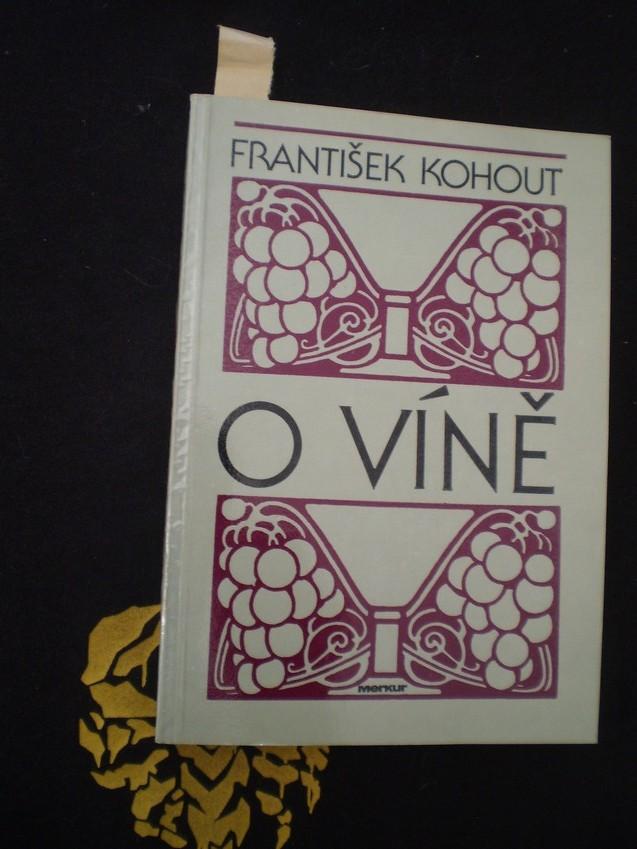 O víně - Kohout, František