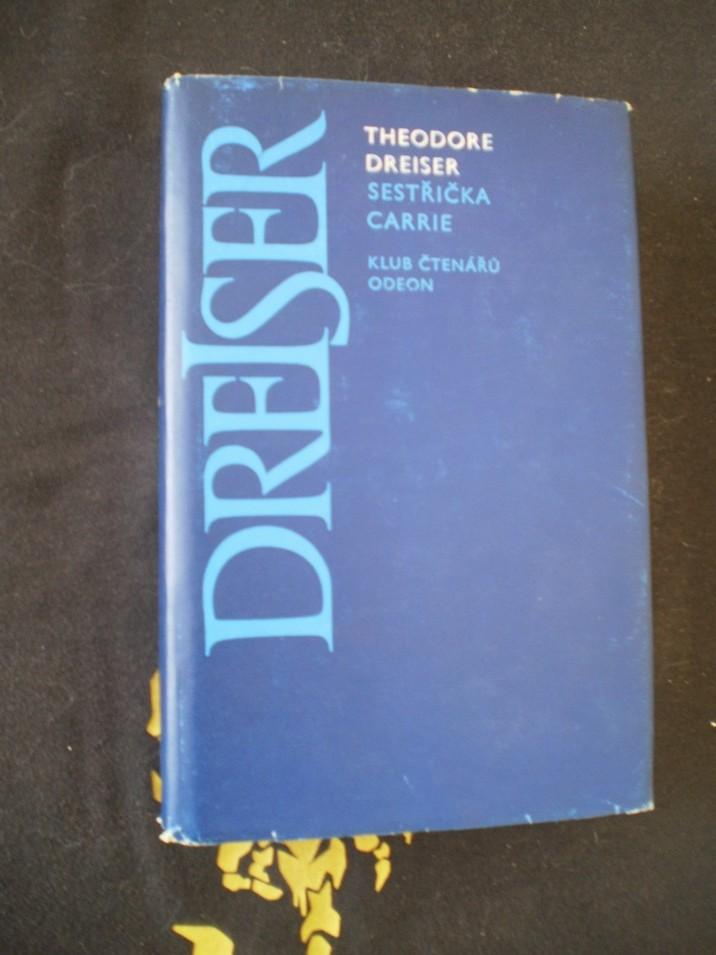 SESTŘIČKA CARRIE - Dreiser, Theodore