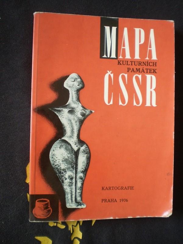 Mapa kulturních památek ČSSR
