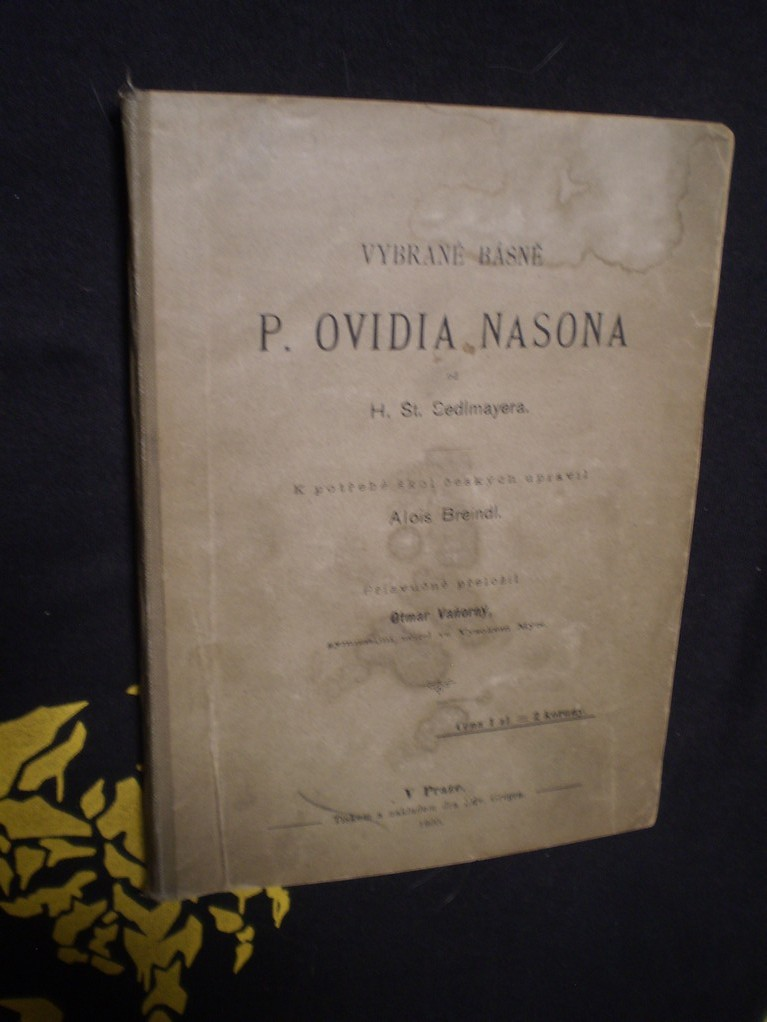 Vybrané básně P. Ovidia Nasona