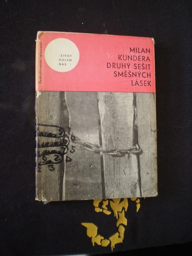 DRUHÝ SEŠIT SMĚŠNÝCH LÁSEK - Kundera, Milan