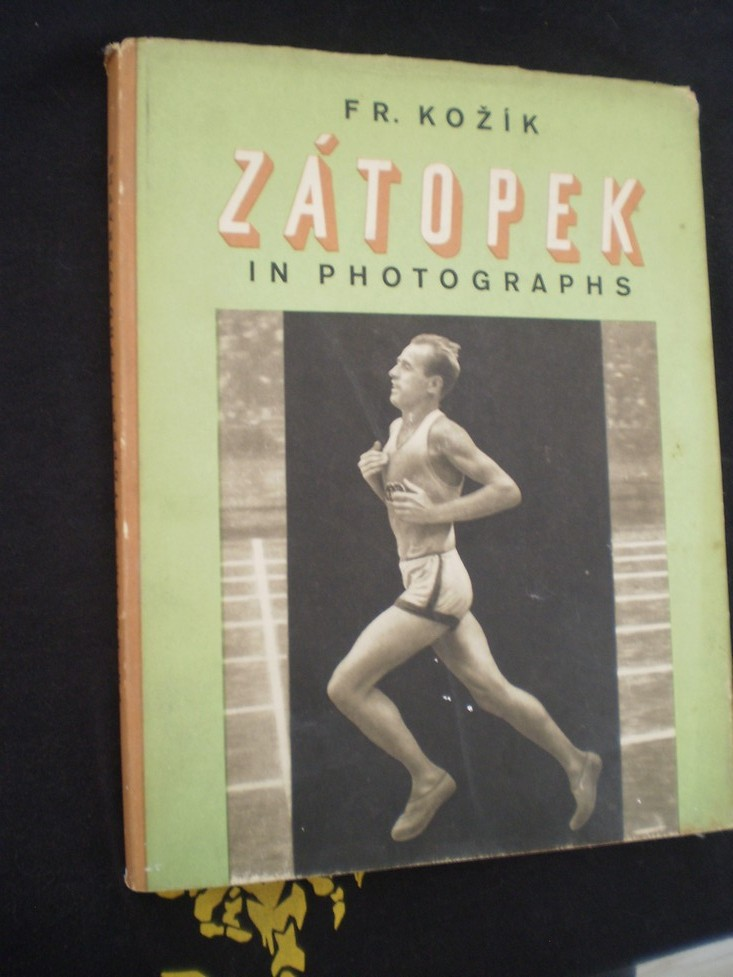 EMIL ZÁTOPEK IN PHOTOGRAPHS